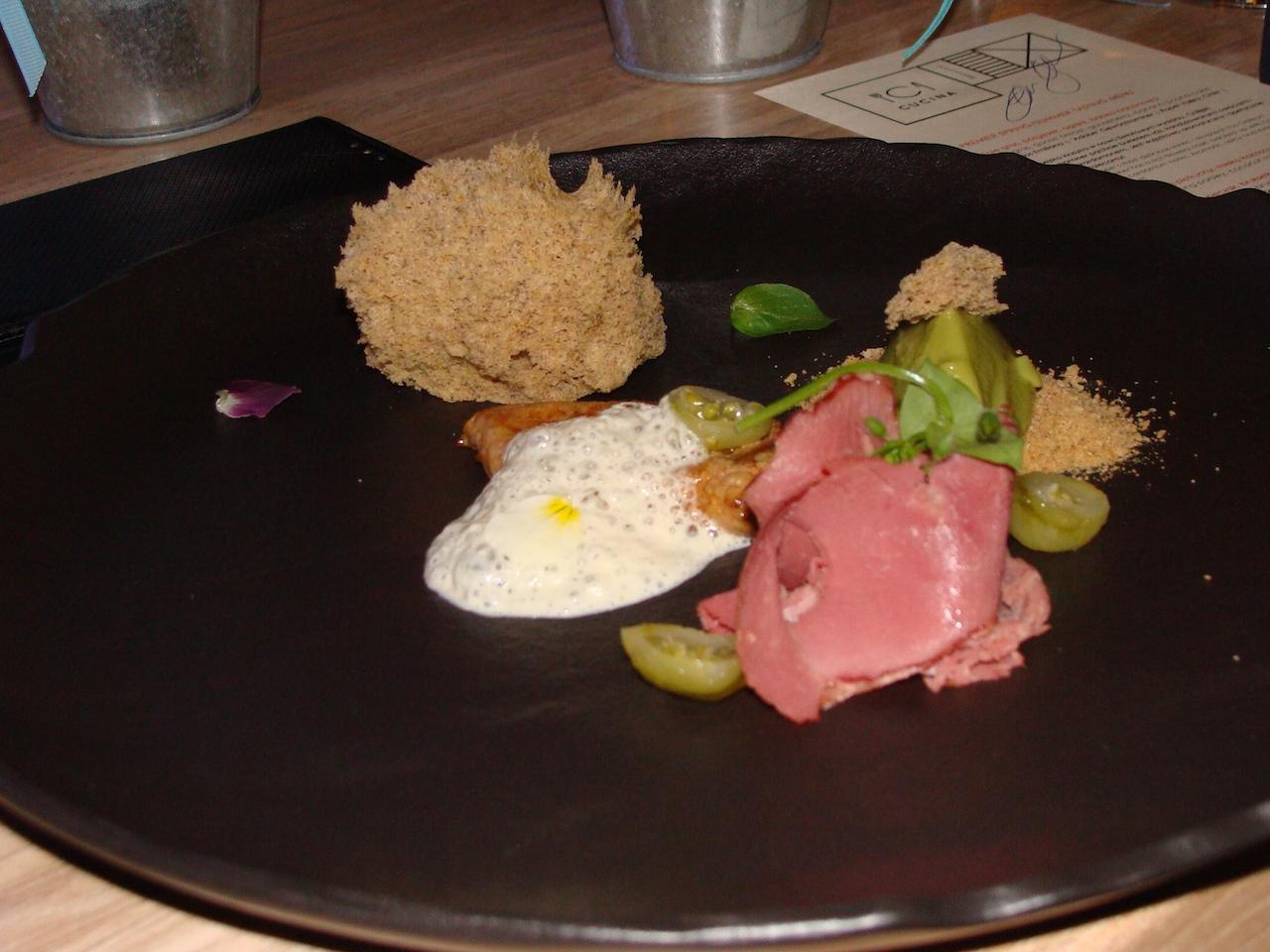 Restauracja Cucina Menu Degustacyjne Przystawka